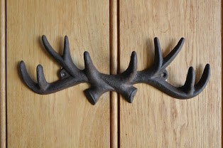Adobe Antler Coat Hook