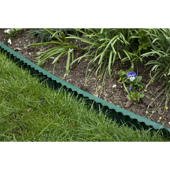 Apollo Plastic Lawn Edging 1m x 130mm