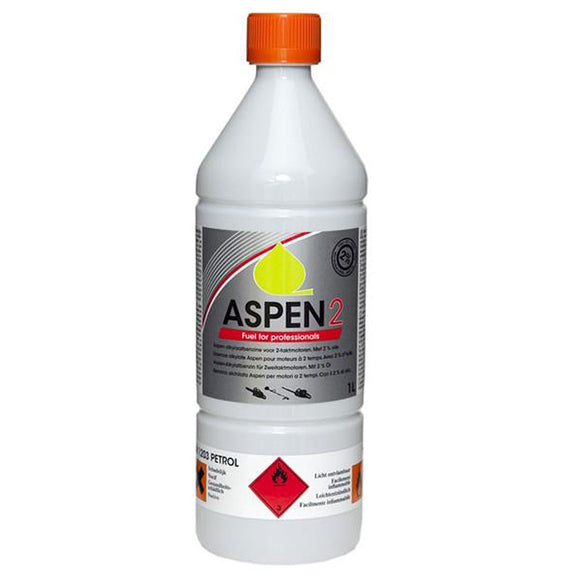 Aspen Alkylate 2-Stroke 1Ltr Fuel Mix for Husqvarna