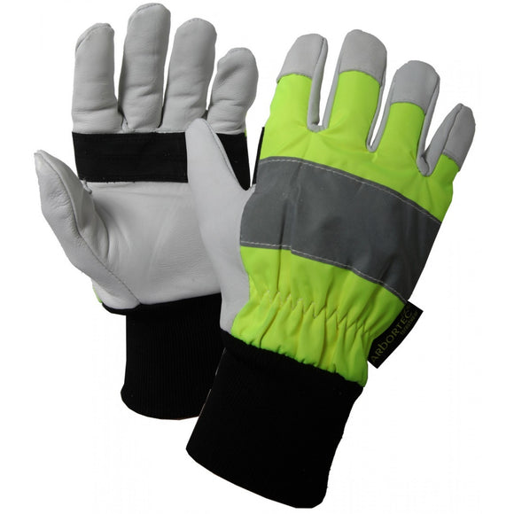 Treehog Class 1 Hi-Vis Chainsaw Gloves TH041