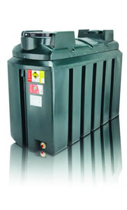 Atlas Horizontal Bunded Oil Tank 1225L