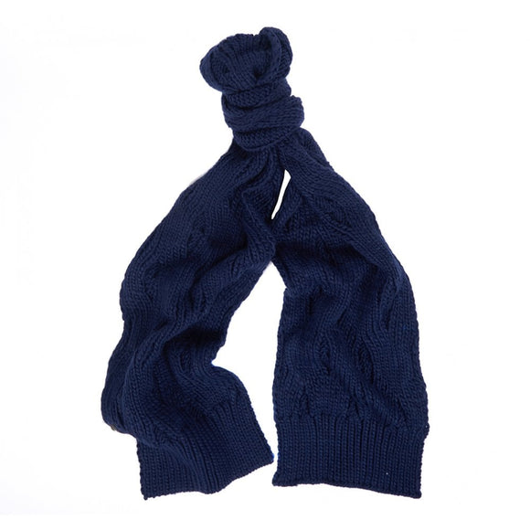 Barbour Womens Knitted Scarf Lowland