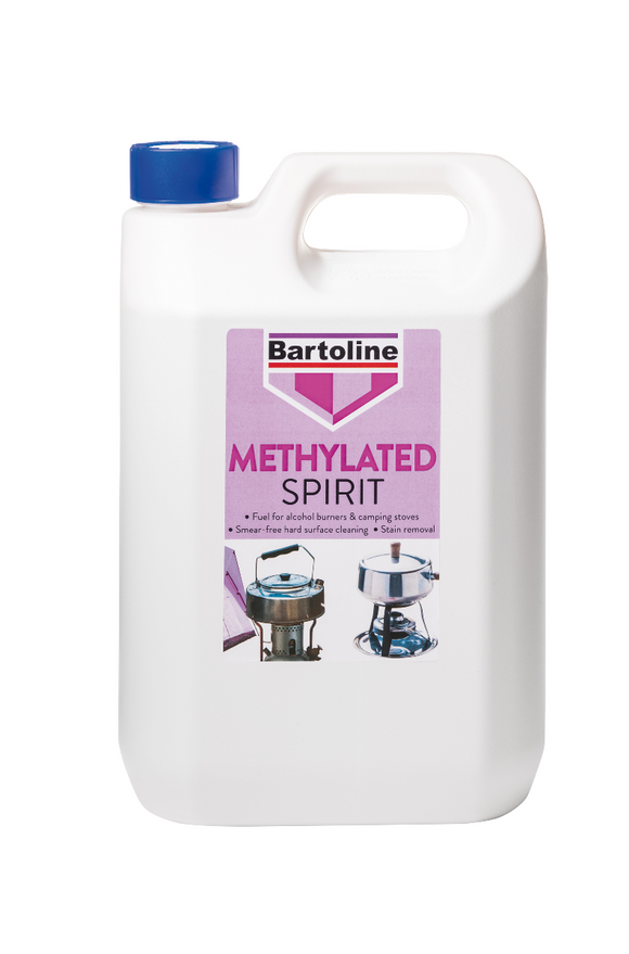 Bartoline Mineralised Methylated Spirit 5L
