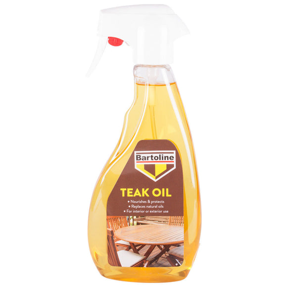 Bartoline Teak Oil Spray 500ml