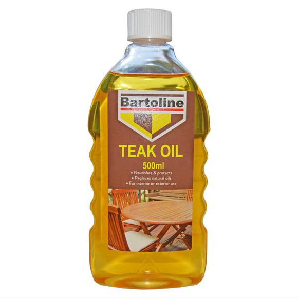 Bartoline Teak Oil Bottle 500ml