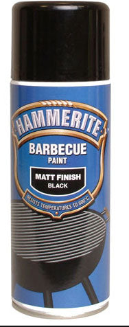 Hammerite Barbecue Paint in Matt Black