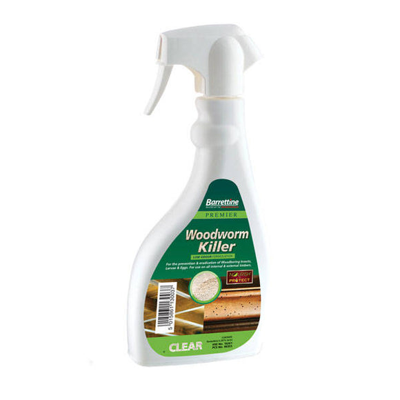 Barrettine Premier Woodworm Killer Spray 500ml