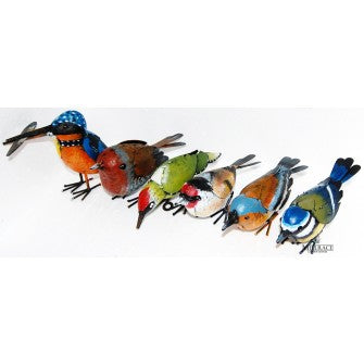 La Hacienda Metal British Bird Ornament