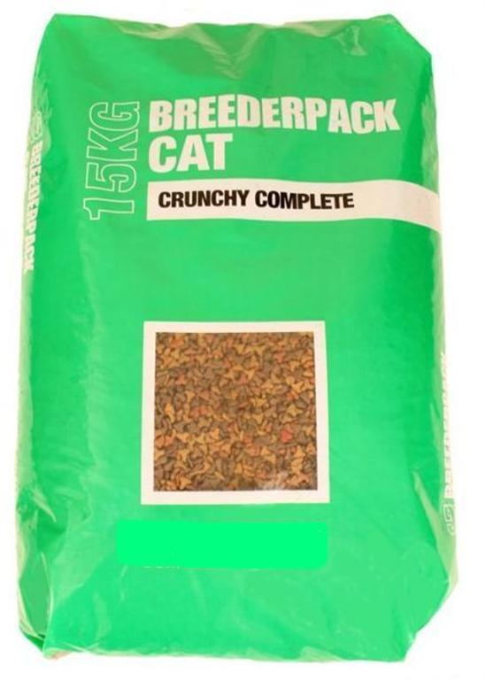 Breederpack Complete Cat Food 15kg