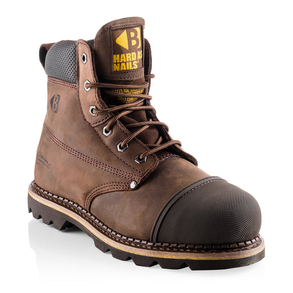 Buckler Scuff Cap Goodyear Welted Safety Boot
