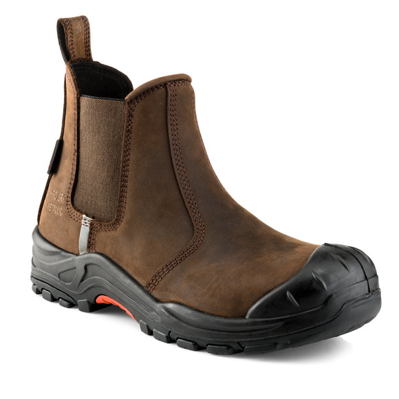 Buckler Nubuckz Safety Dealer Boots