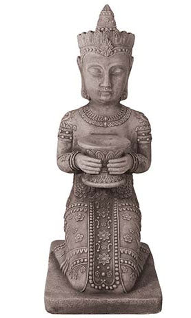 Willowstone Kneeling Buddha