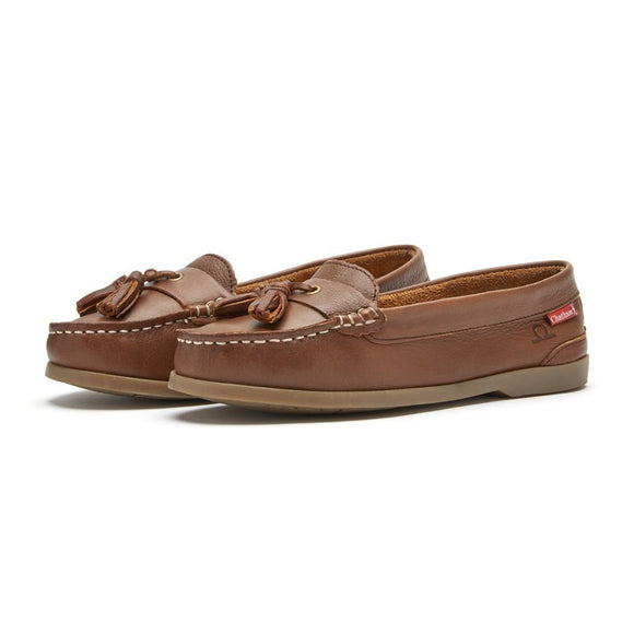 Chatham Arora Leather Tassel Loafers
