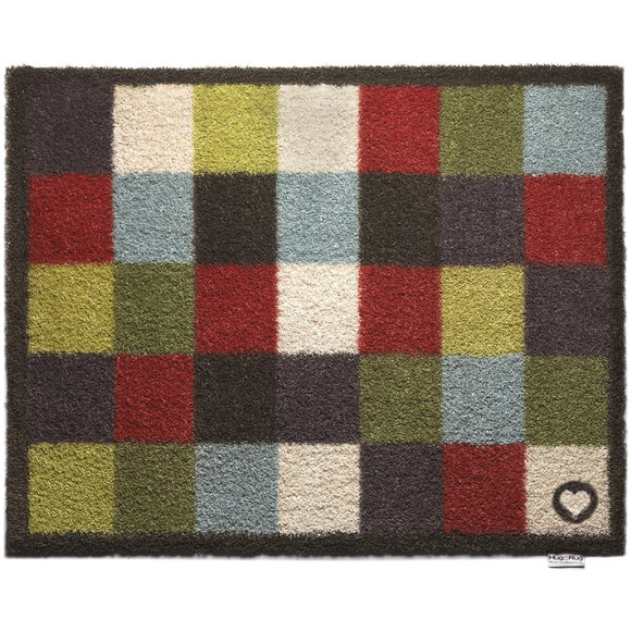 Hug Rug Check 10 Multi-Colour