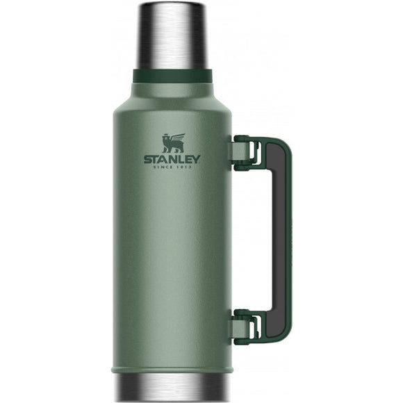 Stanley Legendary Classic Thermal Flask Hammertone Green 1.9L