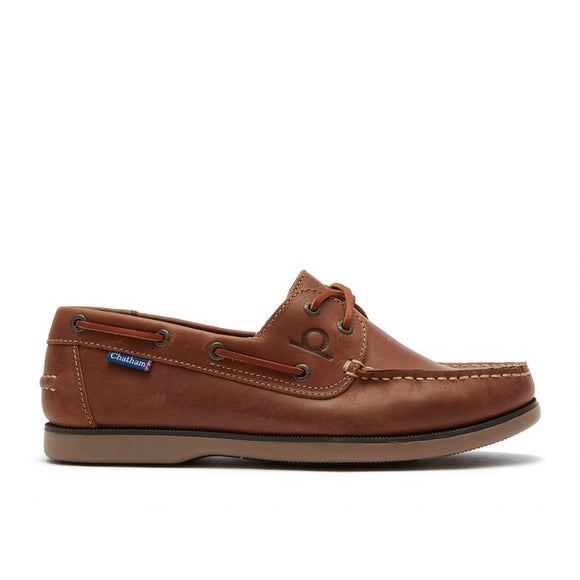 Chatham Whitstable Premium Leather Boat Shoes