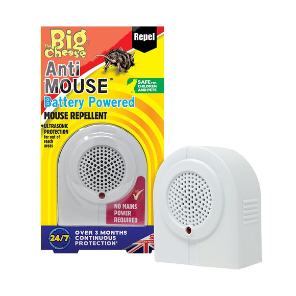 The Big Cheese Anti Mouse Battery Powered Mouse Repellent