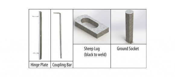 IAE Sheeprace Coupling Bar