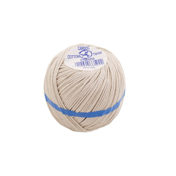 Kent & Co Twines No4 Cotton Twine Extra Thick 250g Ball