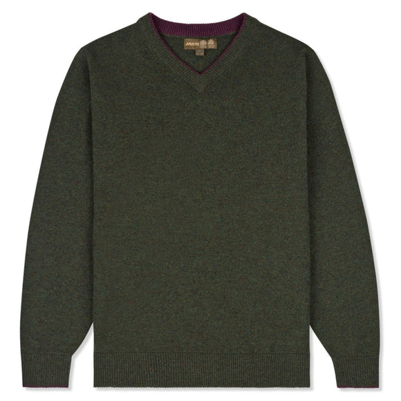 Musto Shooting V Neck Knit Jumper