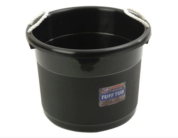 Curver Tuff Tub Bucket Black 69L