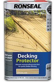 Ronseal 5 Litre Decking Protector - Natural