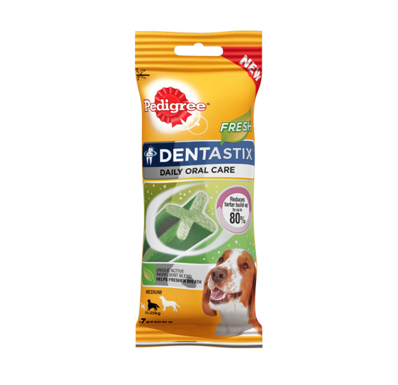 Pedigree Medium Dentastix Fresh - Pack of 7