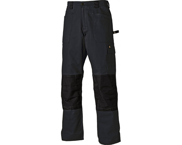 Dickies Grafter Duo Tone Workwear Trousers | Black