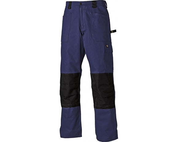 Dickies Grafter Duo Tone Workwear Trousers Navy & Black