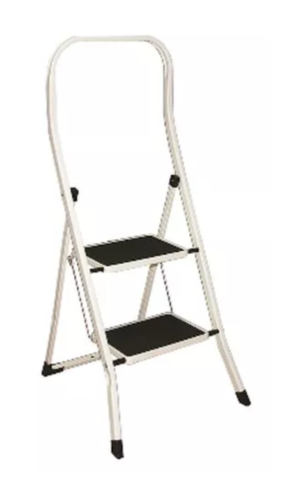 Drabest High Back Kitchen Step Ladders 2 Steps