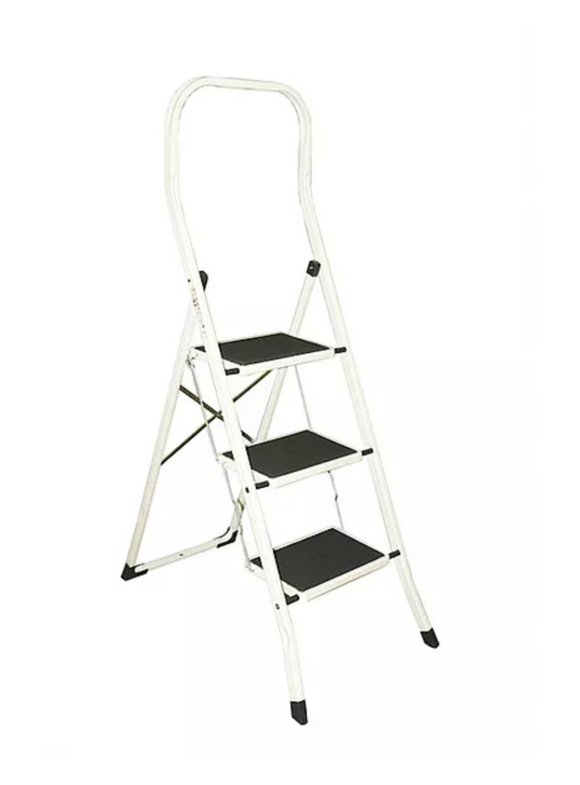 Drabest High Back Kitchen Step Ladders 3 Steps