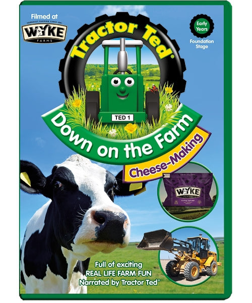 Tractor Ted Down on The Farm Cheese Making DVD