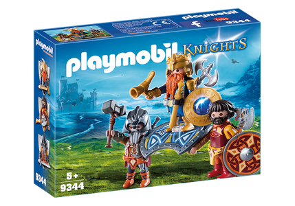 You added <b><u>Playmobil Knights Dwarf King with Guards 9344</u></b> to your cart.