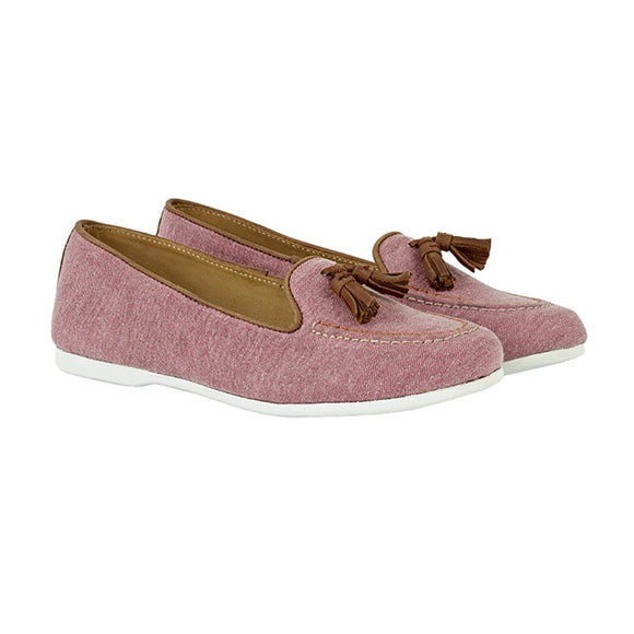 Chatham Womens Slip-On Loafer Eclipse Pink