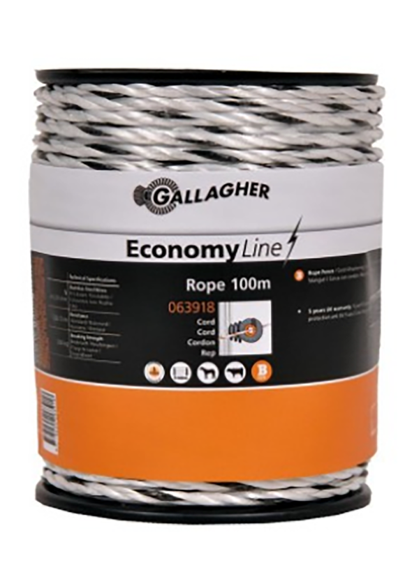 Gallagher Poly Wire Rope 100m