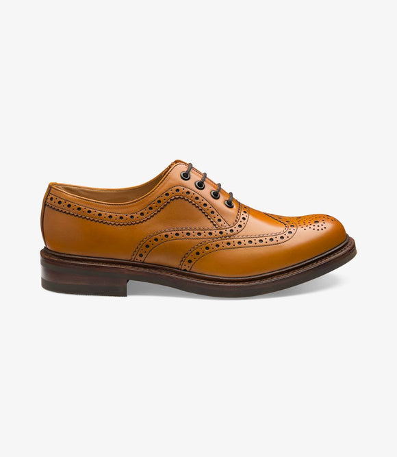 Loake Mens Brogues | Edward Tan