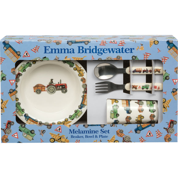 Emma Bridgewater Men at Work 6 Piece Melamine Set