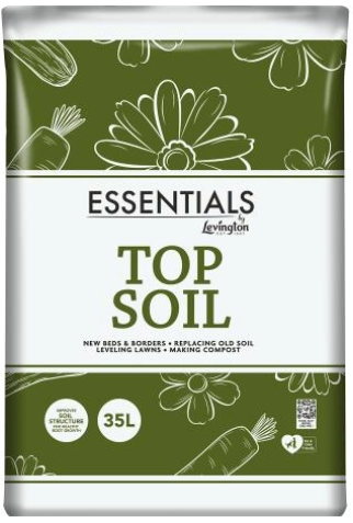 Levington Essentials Top Soil 35L