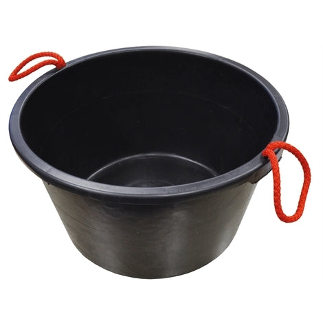 Faithfull Builders Bucket Black 65L