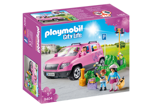 Playmobil City Life Family Car with Parking Space 9404