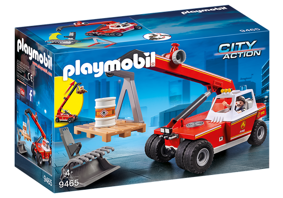 Playmobil City Action Fire Crane 9465