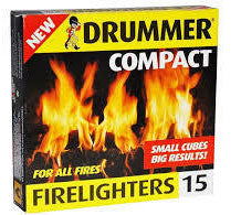 Drummer Compact Firelighters