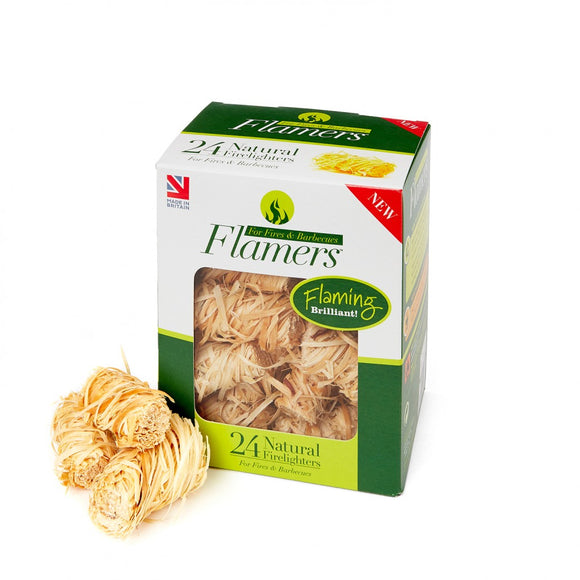 Flamers Natural Firelighters 24 Pack
