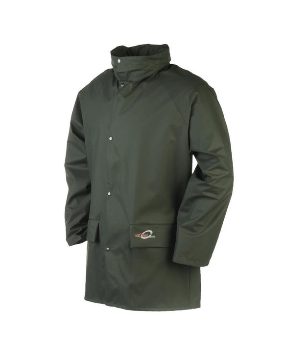 Sioen Dortmund Flexothane Waterproof Jacket 4820 Green