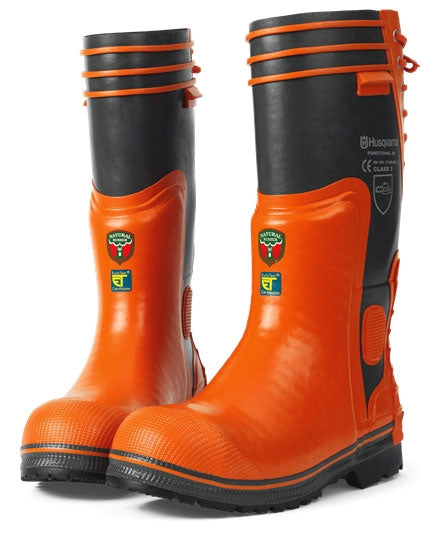 Husqvarna Functional 28 Rubber Chainsaw Safety Boots