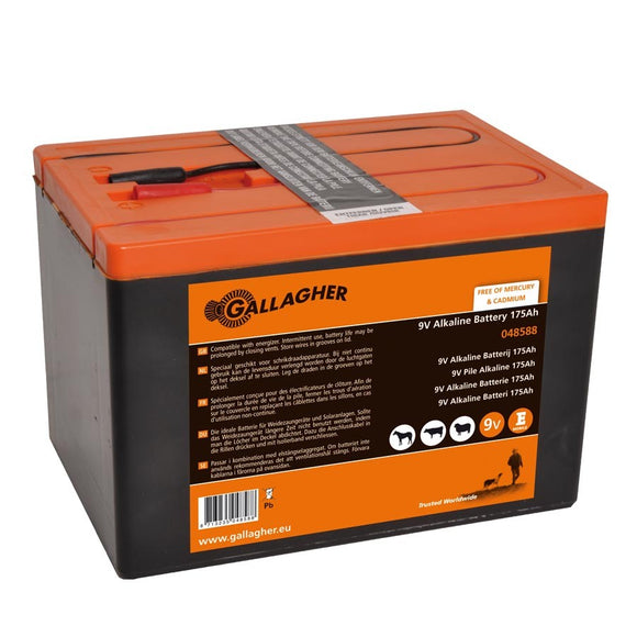 Gallagher Powerpack Battery 9V 175Ah