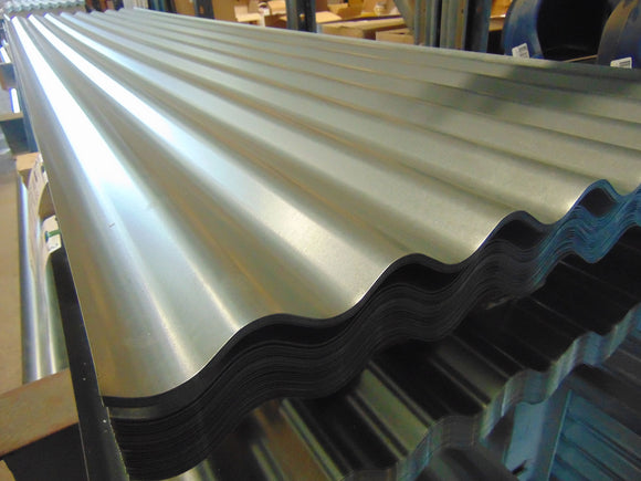 Galvanised Roof Sheet 2.1m