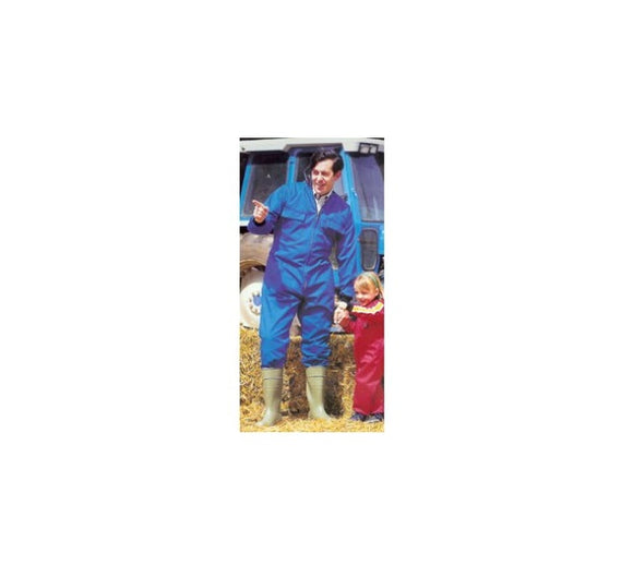 GD Textile Childs Tractor Boilersuit - Blue