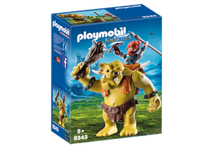 Playmobil Knights Giant Troll with Dwarf Fighter 9343