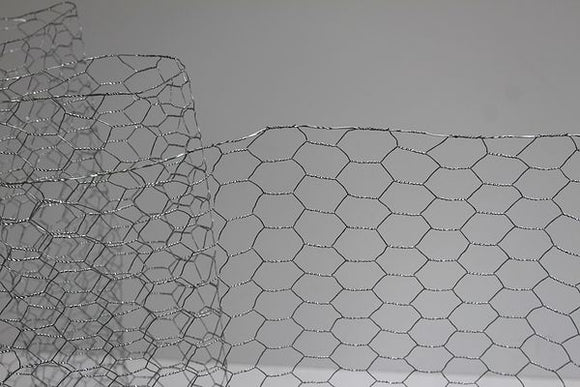 Moncaster Galvanised Wire Netting 1200mm x 25mm 22g 50m